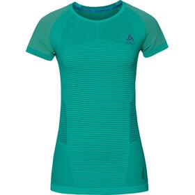 Odlo Ceramicool Motion Løbe T-shirt Damer turkis